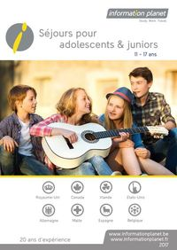 brochure pour adolescents et juniors